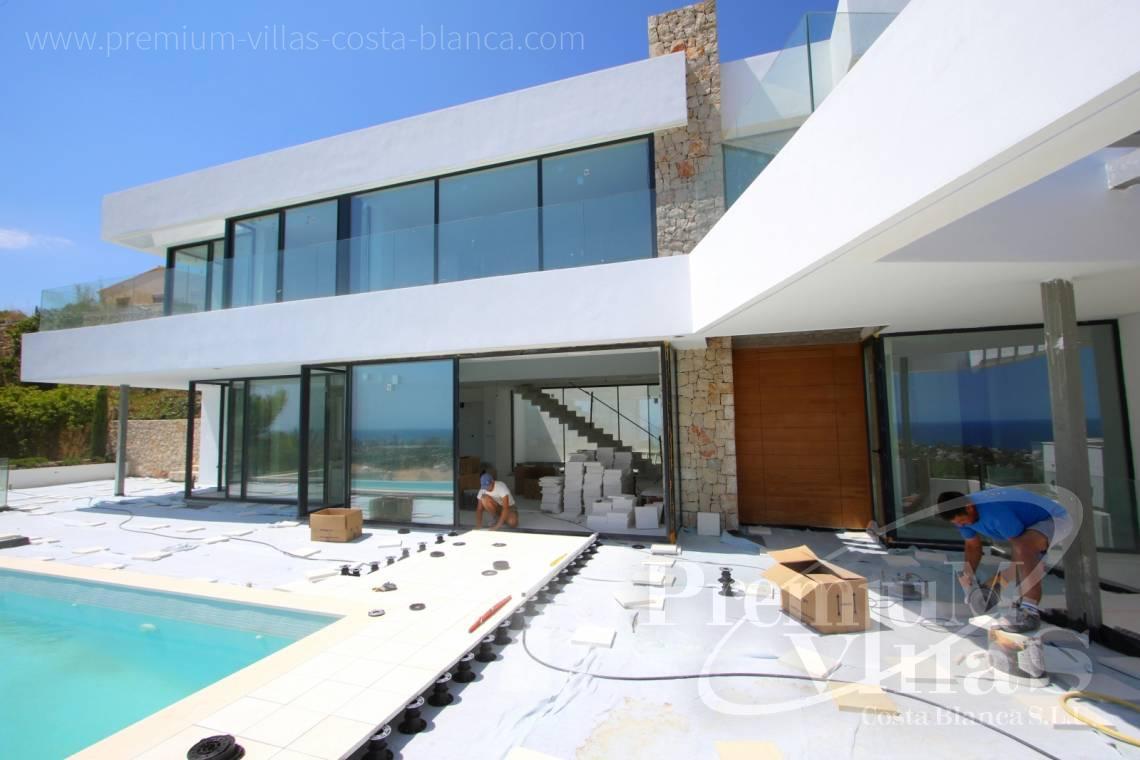Villa de lujo calpe costa blanca espa a chalet moderno en for Frentes de chalets modernos