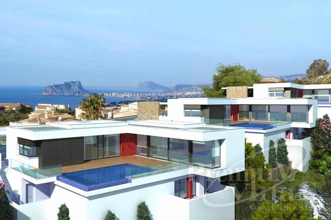 casa de lujo España Costa Blanca Chalet moderno en venta con ...