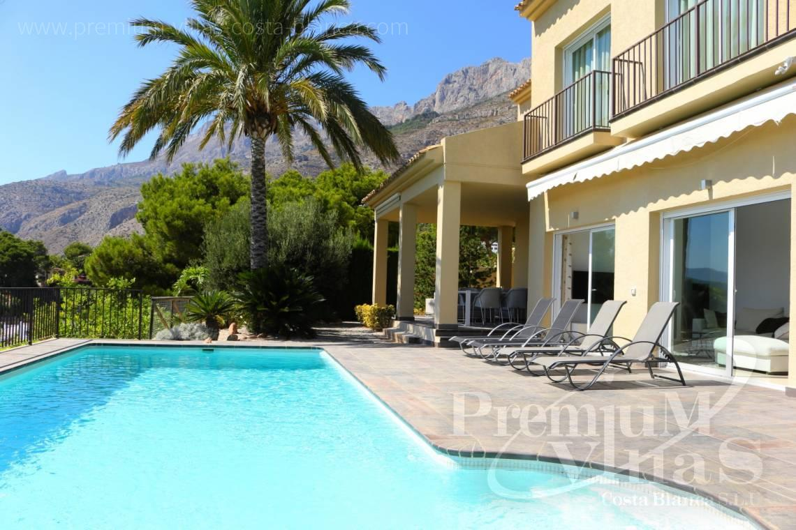 villa cerca del club de Golf Don Cayo en Altea Costablanca - C2079 - chalet moderno en Altea con vistas al mar 5